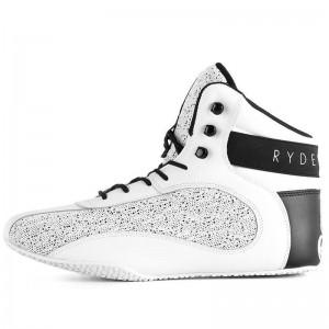 Ryderwear D-Mak White Spec - buty na siłownię