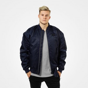 Astor Bomber Jacket, Dark Navy - Kurtka męska Better Bodies