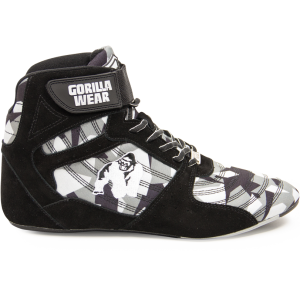 Perry High Tops Pro - Black/Gray Camo buty treningowe Gorilla Wear USA