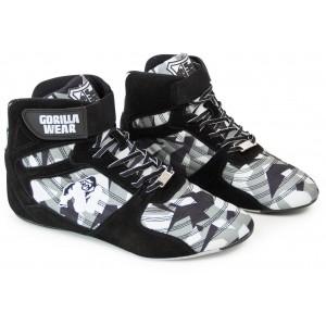 Perry High Tops Pro - Black/Gray Camo buty na siłownię NOWA KOLEKCJA Gorilla Wear USA