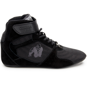 Perry High Tops Pro - Black/Black buty do treningu Gorilla Wear USA