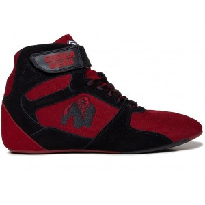 Perry High Tops Pro - Red/Black buty treningowe