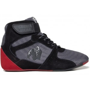 Perry High Tops Pro - Gray/Black/Red buty treningowe Gorilla Wear USA