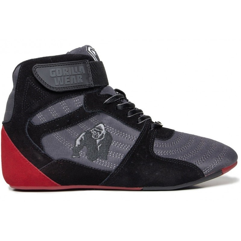 Perry High Tops Pro - Gray/Black/Red buty treningowe