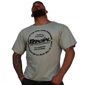 Brachial T-Shirt Style - szary