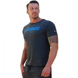 Brachial T Shirt Limited szara dopasowana koszulka