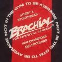 Brachial Tank-Top Squat - czarny/czerwony