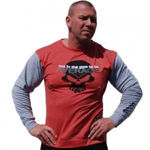 Brachial Longshirt Truly - czerwony