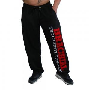 """Brachial spodnie dresowe """"Gym"""" - czarny/czerwony"""