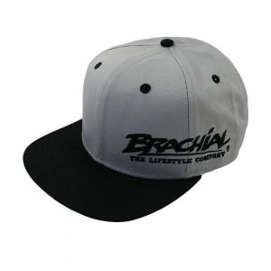 Brachial Snapback Cap Protect LIGHT GREY/BLACK - czapka