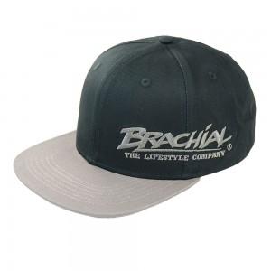 Brachial Snapback Cap Protect BLACK/DARK GREY - czapka