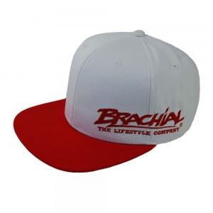 Brachial Snapback Cap Protect WHITE/RED - czapka
