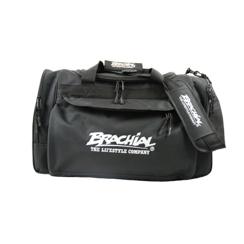 Brachial Sports Bag Heavy BLACK - torba treningowa