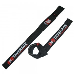 Brachial Lifting Straps Strong BLACK/RED - paski do ciągów