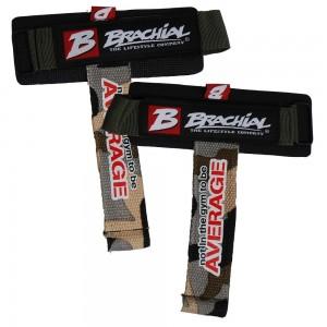 Brachial Lifting Straps Drag CAMO/BLACK- paski haki na siłownie