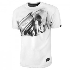 Pitt Bull So Cal 45, White - T-shirt męski