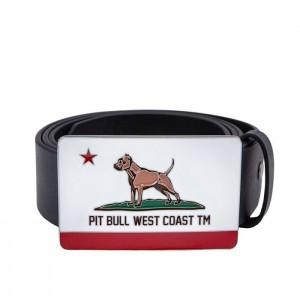 Pit Bull Pasek skórzany California Dog