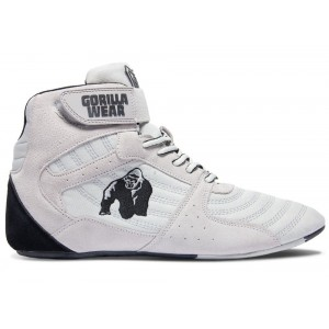 Perry High Tops Pro - White buty do treningu Gorilla Wear USA