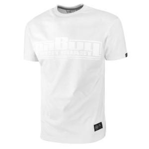 Pit Bull Koszulka One Tone Logo, Biały - Koszulka bawełniana